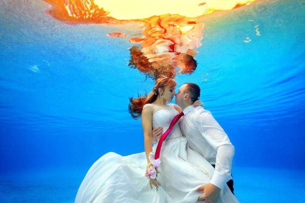 Underwater wedding - Weddo Agency